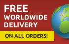 Free delivery worldwide on all orders!