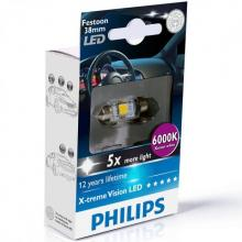 Philips X-treme Vision Festoon LED C5W 6000K 38mm (single bulb)