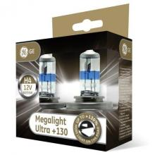GE Megalight Ultra 9003 (HB2/H4) +130 (Twin Pack)