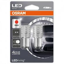 OSRAM LEDriving P21/5W (380) LED Red LED (Twin)