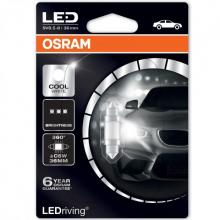 OSRAM C5W LEDriving - Cool White Festoon Bulb (single) 6000K 36mm