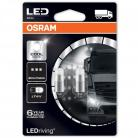 OSRAM T4W LED Driving 6000K - Cool White (twin)