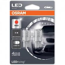 OSRAM LEDriving W21W Red LED (Twin)