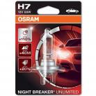 OSRAM NIGHT BREAKER UNLIMITED H7 Headlight Bulbs (Single)