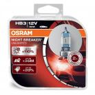 OSRAM NIGHT BREAKER UNLIMITED HB3 (9005) Headlight Bulbs (Twin Packs)