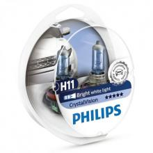 Philips Crystal Vision H11 (Twin)
