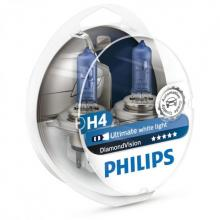 Philips Diamond Vision 9003 (HB2/H4) (Twin Pack)