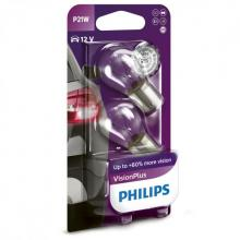 Philips Vision Plus P21W (Twin Pack)