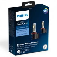 Philips X-tremeUltinon LED Headlamp H8/H11/H16 (Twin Pack)