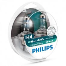 Philips X-treme Vision +130% 9003 (HB2/H4) (Twin Pack)